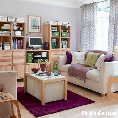 20140421014018583 Ăn gian diện tích cho không gian phòng khách nhỏ