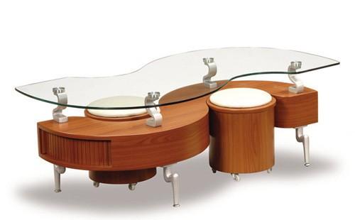 20140423015223055 Phòng khách thêm gọn gàng với chiếc bàn trà giấu ghế