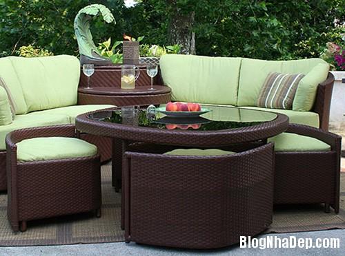 20140423015236066 Phòng khách thêm gọn gàng với chiếc bàn trà giấu ghế