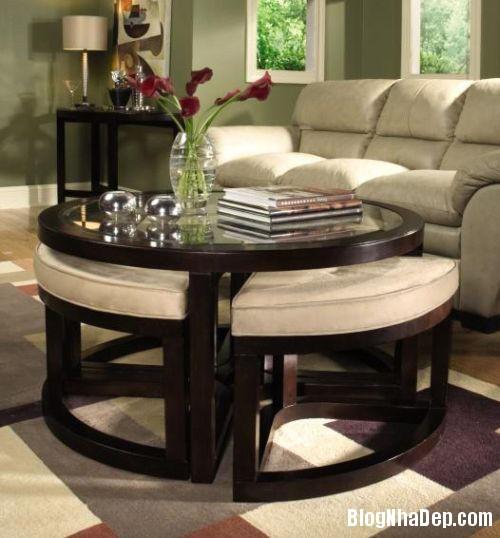 20140423015248608 Phòng khách thêm gọn gàng với chiếc bàn trà giấu ghế