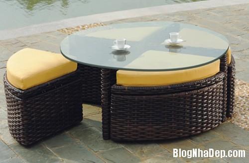 20140423015254521 Phòng khách thêm gọn gàng với chiếc bàn trà giấu ghế