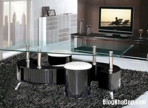 20140423015314067 Phòng khách thêm gọn gàng với chiếc bàn trà giấu ghế