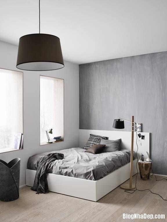 20140510092925957 Phòng ngủ thiết kế theo phong cách Đan Mạch