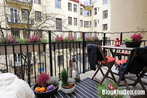20140512080745136 Ban công lãng mạn nơi căn hộ chung cư