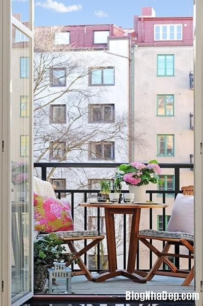 20140512080756633 Ban công lãng mạn nơi căn hộ chung cư