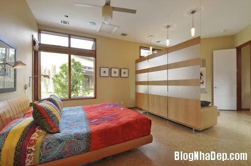 20140512080936473 Tạo không gian phòng ngủ bằng các bức ngăn phòng