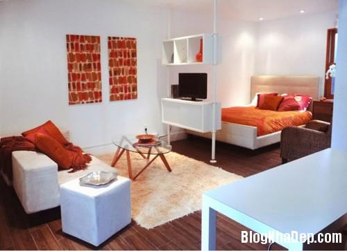 20140512080938642 Tạo không gian phòng ngủ bằng các bức ngăn phòng