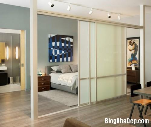 20140512080943805 Tạo không gian phòng ngủ bằng các bức ngăn phòng