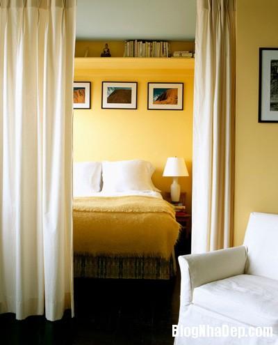 20140512080946676 Tạo không gian phòng ngủ bằng các bức ngăn phòng
