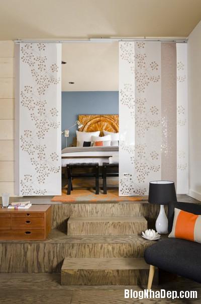 20140512080947128 Tạo không gian phòng ngủ bằng các bức ngăn phòng