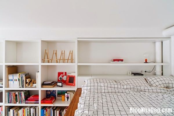 20140513073759560 Căn hộ nhỏ với không gian phòng ngủ và nhà tắm trong một khối hộp