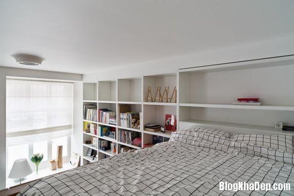 20140513073802742 Căn hộ nhỏ với không gian phòng ngủ và nhà tắm trong một khối hộp