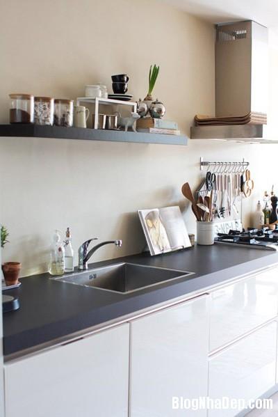 20140516085321043 Để căn bếp nhỏ trở nên rộng hơn