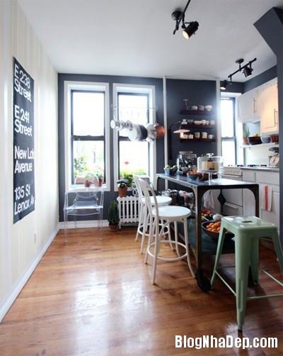 20140516085321745 Để căn bếp nhỏ trở nên rộng hơn