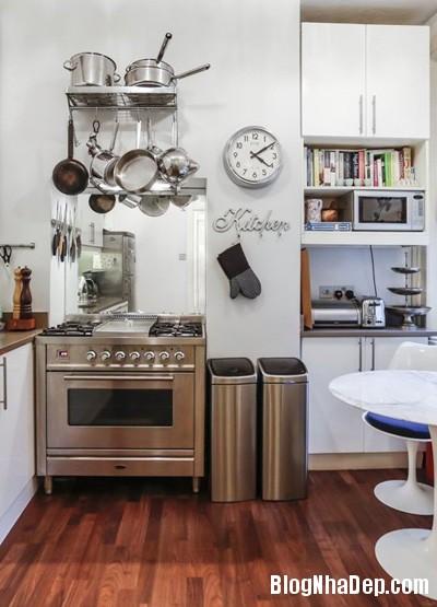 20140516085333133 Để căn bếp nhỏ trở nên rộng hơn