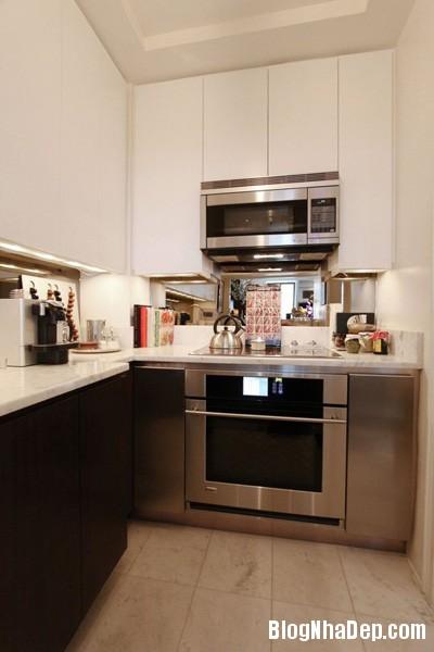 20140516085334880 Để căn bếp nhỏ trở nên rộng hơn