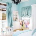 Phòng ngủ dịu mát với sắc xanh biển khơi