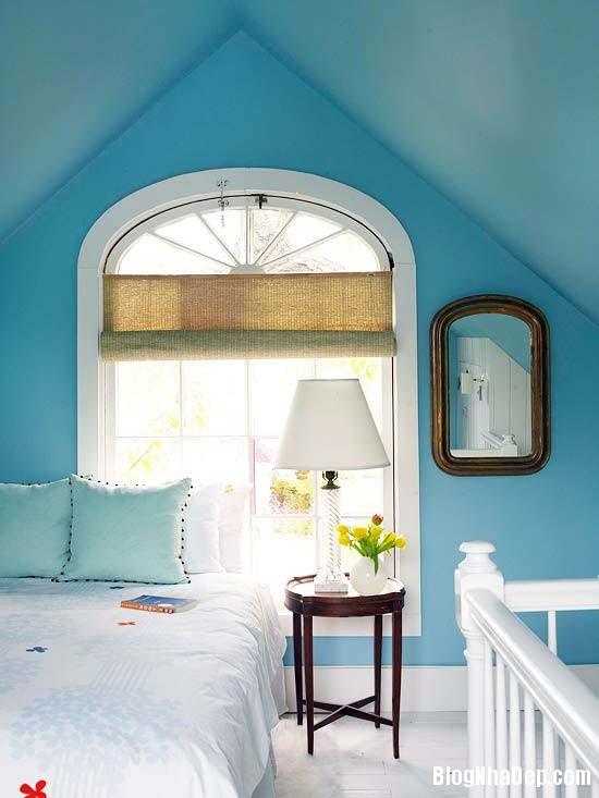 225 Mẫu phòng ngủ dịu mát với sắc xanh