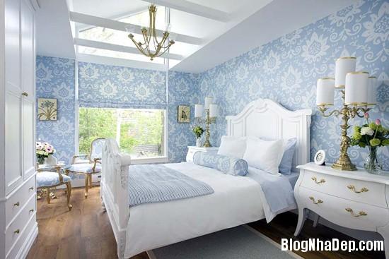 226 Mẫu phòng ngủ dịu mát với sắc xanh