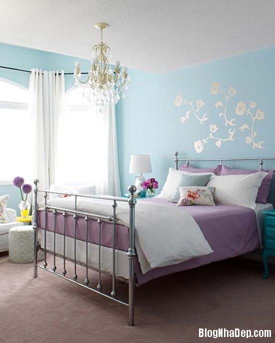 228 Mẫu phòng ngủ dịu mát với sắc xanh