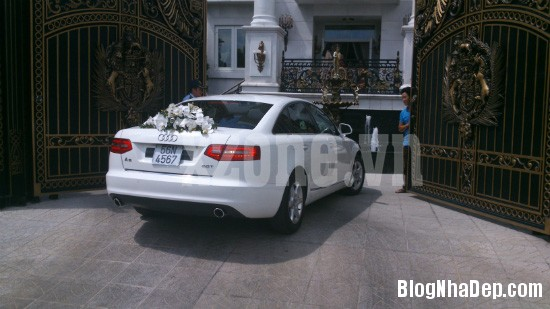277 Dinh thự màu trắng xa hoa của nhà chồng Hà Tăng