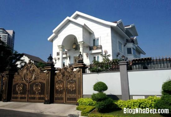 278 Dinh thự màu trắng xa hoa của nhà chồng Hà Tăng