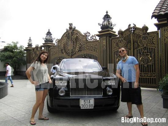 293 Dinh thự màu trắng xa hoa của nhà chồng Hà Tăng