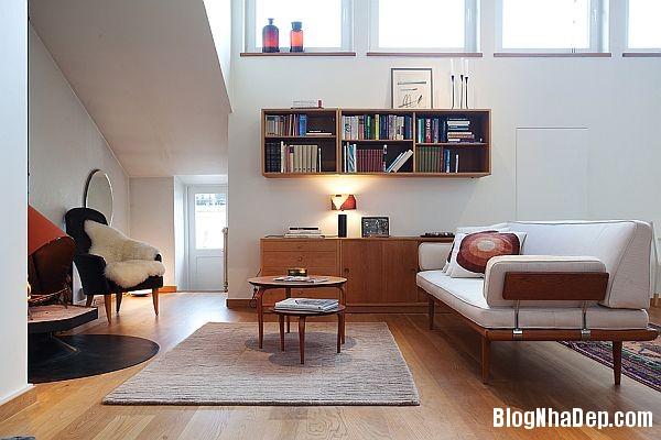 4 phong 6acd7 Căn hộ  bài trí hiện đại và ấm cúng tọa lạc tại thành phố Stockholm