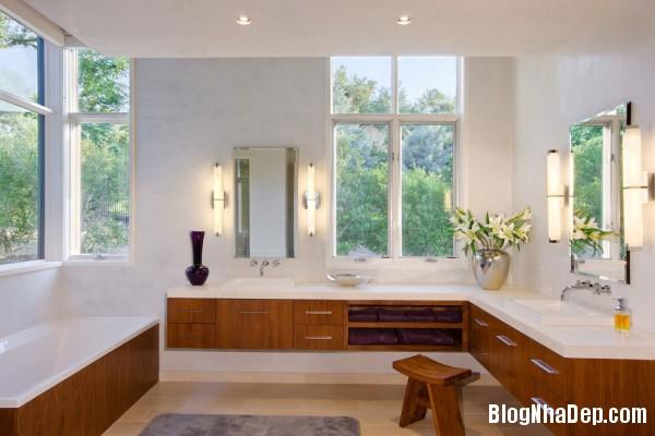 Bathroom6 600x400  Blanco House   Không gian sống tuyệt vời cho bất cứ ai