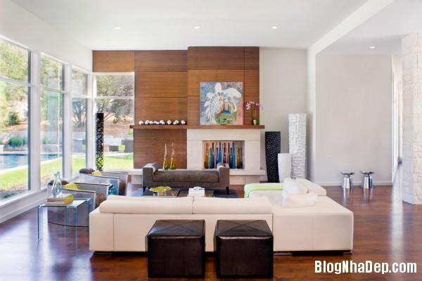 Bright Living Room 600x400  Blanco House   Không gian sống tuyệt vời cho bất cứ ai