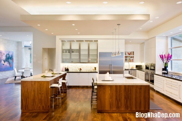 Bright Luminous Kitchen 600x400  Blanco House   Không gian sống tuyệt vời cho bất cứ ai
