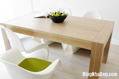 Don gian va hien dai voi hai mau xanh va trang 10 Không gian nội thất đơn giản và hiện đại