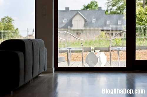 Don gian va hien dai voi hai mau xanh va trang 5 Không gian nội thất đơn giản và hiện đại