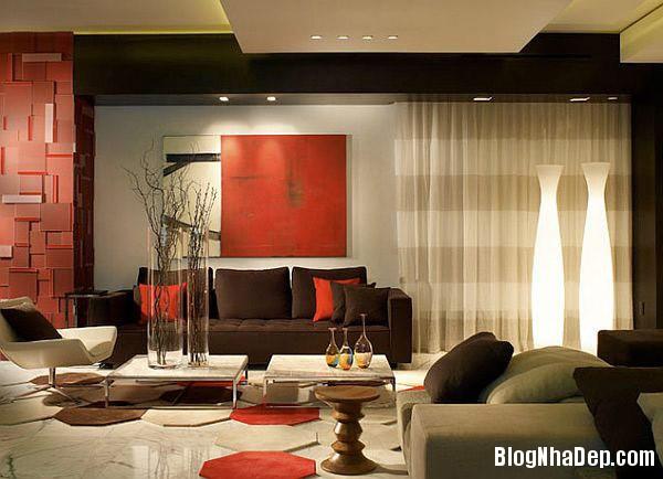 Horizontal stripes curtains Trang trí nội thất nhà bằng họa tiết kẻ sọc