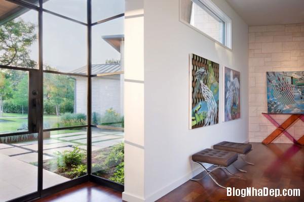 Interior View1 600x400  Blanco House   Không gian sống tuyệt vời cho bất cứ ai
