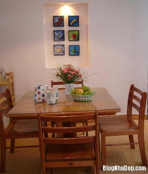 Khong gian hoa co3 Mang hoa cỏ vào trang trí nội thất