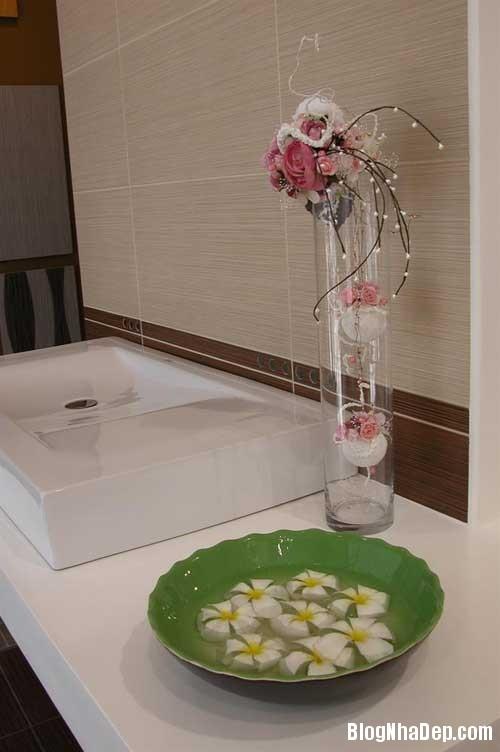 Khong gian hoa co4 Mang hoa cỏ vào trang trí nội thất