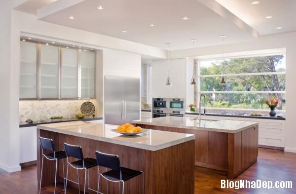 Kitchen4 600x393  Blanco House   Không gian sống tuyệt vời cho bất cứ ai