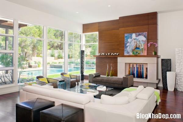 Living Room Details1 600x400  Blanco House   Không gian sống tuyệt vời cho bất cứ ai