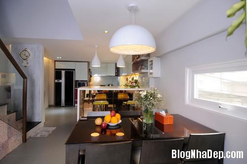 Nha Quoc 4 1 4997 1394620124 Thiết kế tăng thêm diện tích cho ngôi nhà phố