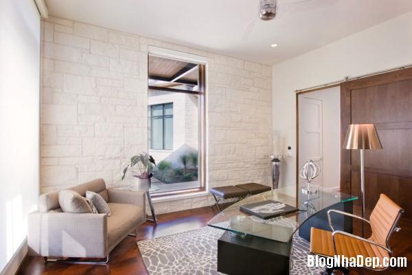 Office1 600x400  Blanco House   Không gian sống tuyệt vời cho bất cứ ai