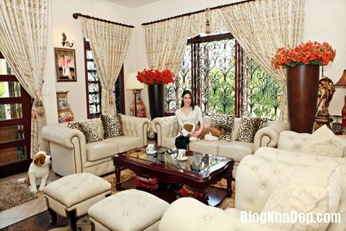 TammyThai Thăm căn nhà rộng 200m2 của hoa hậu Tammy Thái tại Quận 7