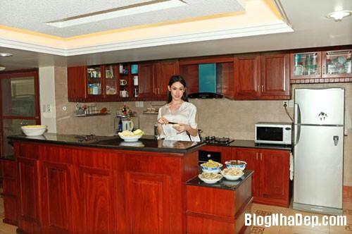 TammyThai1 Thăm căn nhà rộng 200m2 của hoa hậu Tammy Thái tại Quận 7