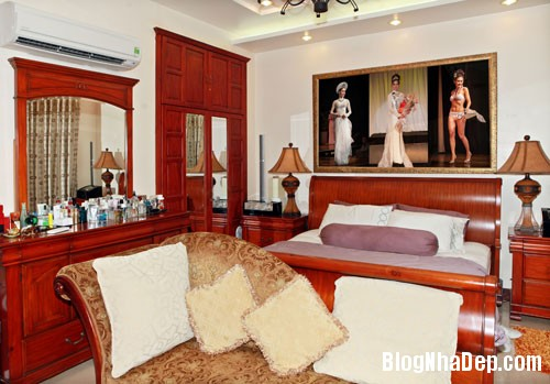 TammyThai4 Thăm căn nhà rộng 200m2 của hoa hậu Tammy Thái tại Quận 7