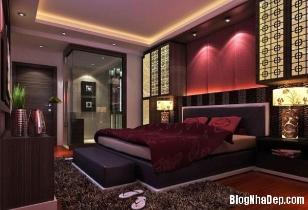 bay tri phong ngu hop phong thuy mau sac Bí quyết chọn nội thất để có căn phòng ngủ hoàn hảo