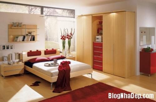 cach trang tri phong ngu lang man cho vo chong tre 1 1 Trang trí cho không gian phòng ngủ thêm sinh động