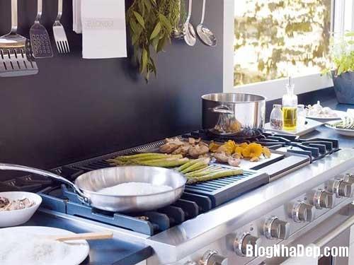can bep sang trong va cuon hut7 Thiết kế góc ăn uống sang trọng tiện nghi