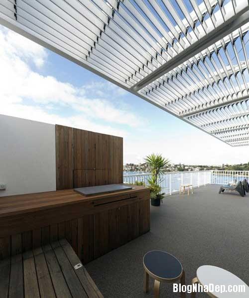 can ho an tuong nhin ra cang 4 Căn hộ hiện đại với tầm nhìn tuyệt đẹp ra cảng Sydney