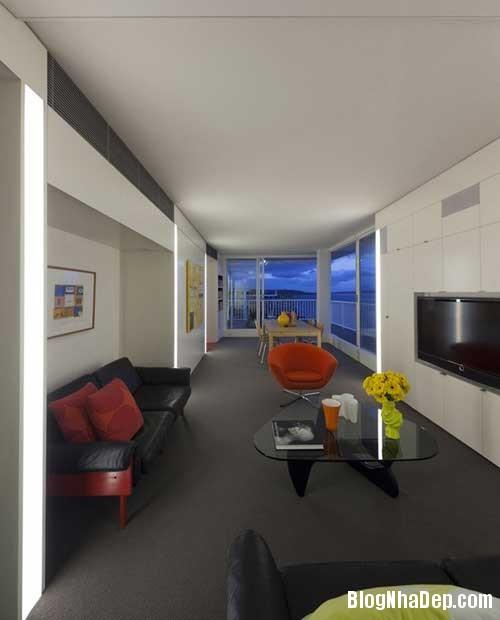 can ho an tuong nhin ra cang 5 Căn hộ hiện đại với tầm nhìn tuyệt đẹp ra cảng Sydney