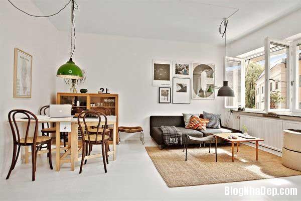 can ho cao cap 35m Thiết kế nội thất ấn tượng cho căn hộ 35 m2